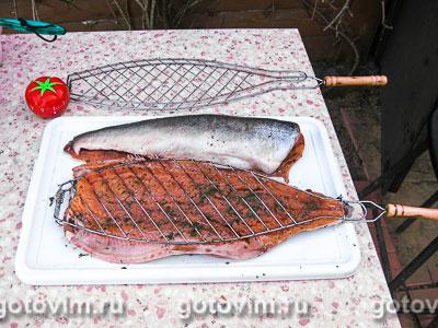 Шашлык из горбуши:описание рецепта с фото, приготовление