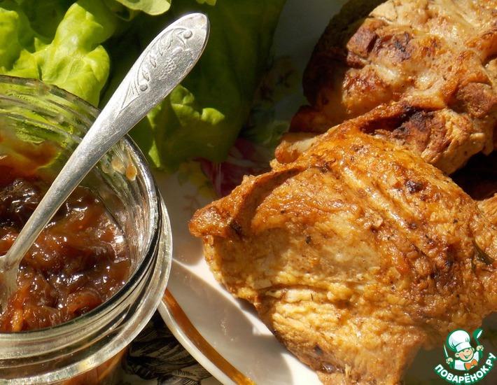 Маринад для шашлыка с соевым соусом
