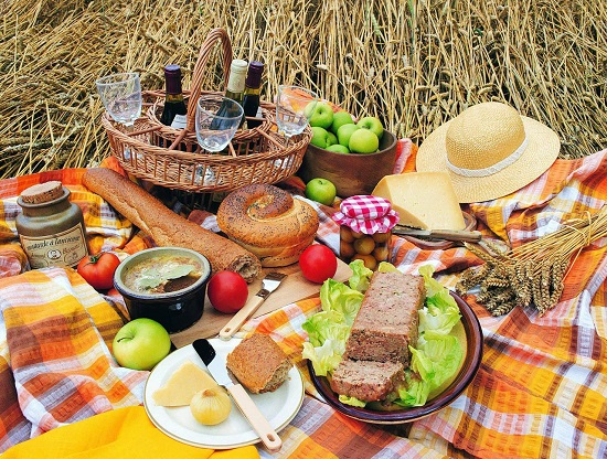 Что взять детям на пикник?