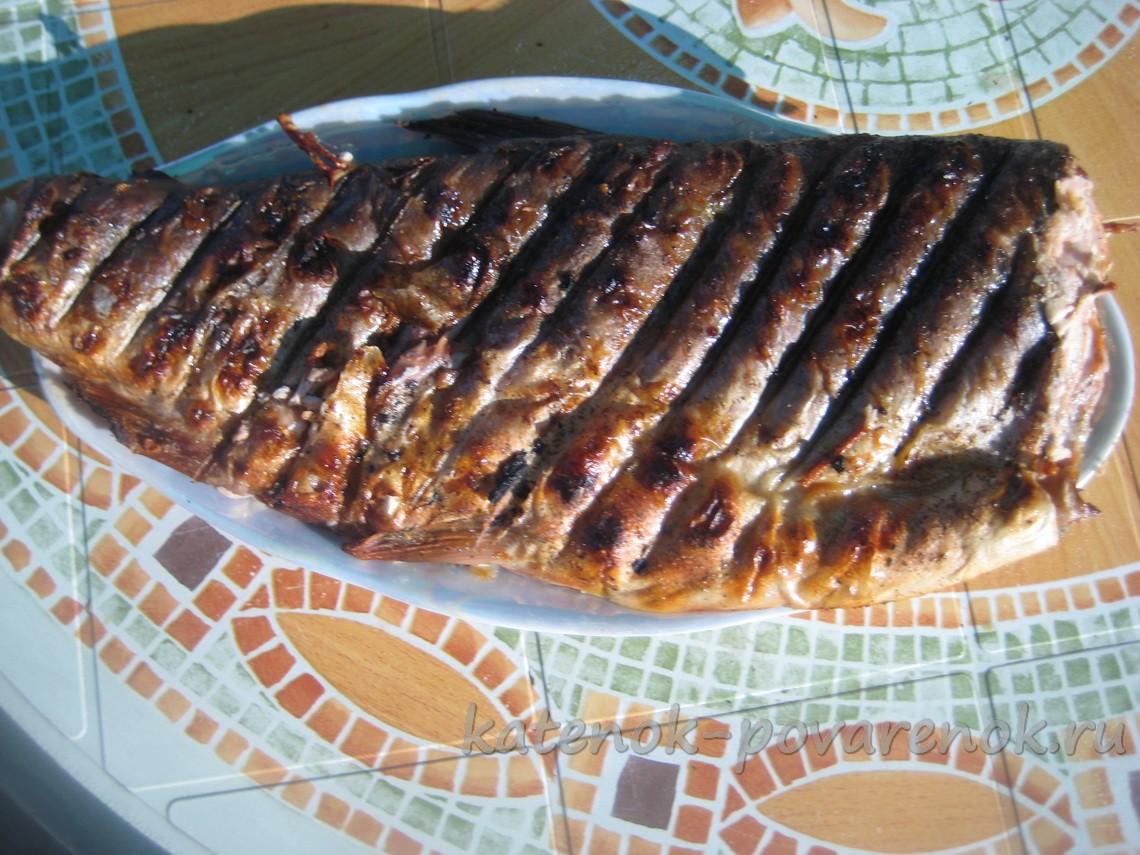 Рецепты приготовления горбуши на мангале