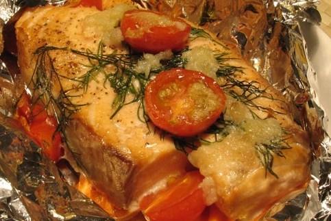 Запечённый лосось в духовке – так вкусно вы ещё не готовили!