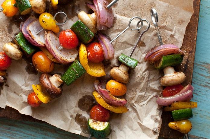 Вегетарианский шашлык