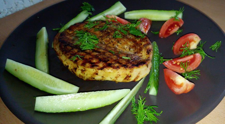 Как сделать стейк из индейки по пошаговому рецепту с фото