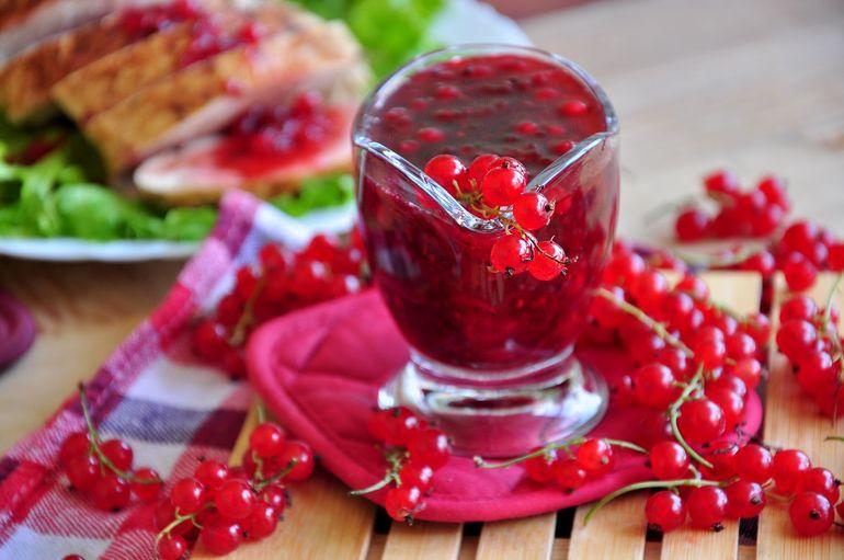 Фруктово — ягодный соус для шашлыка
