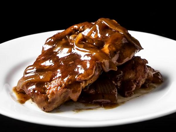 Пошаговый рецепт приготовления отбивных из говядины на сковороде