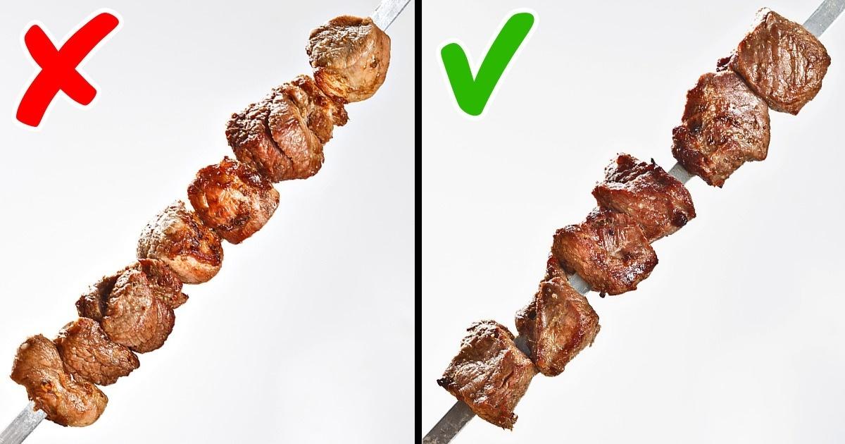 Как подготовить мясо для шашлыка? учимся правильно рассчитывать, нарезать и мариновать мясо