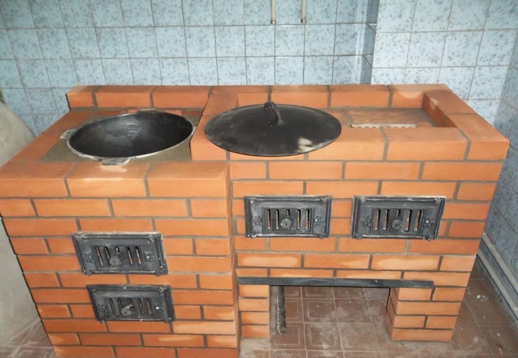 Печь барбекю с казаном » дача! как стиль жизни...