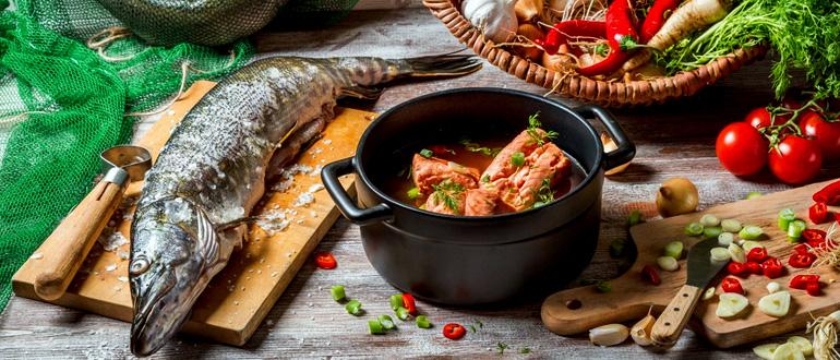 Уха на костре: простой и вкусный рецепт