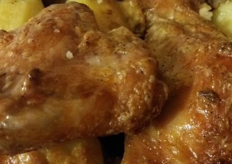 Крылья барбекю в сметанном соусе | шашлык - про
