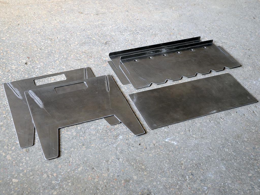 Обзор популярных моделей складных мангалов