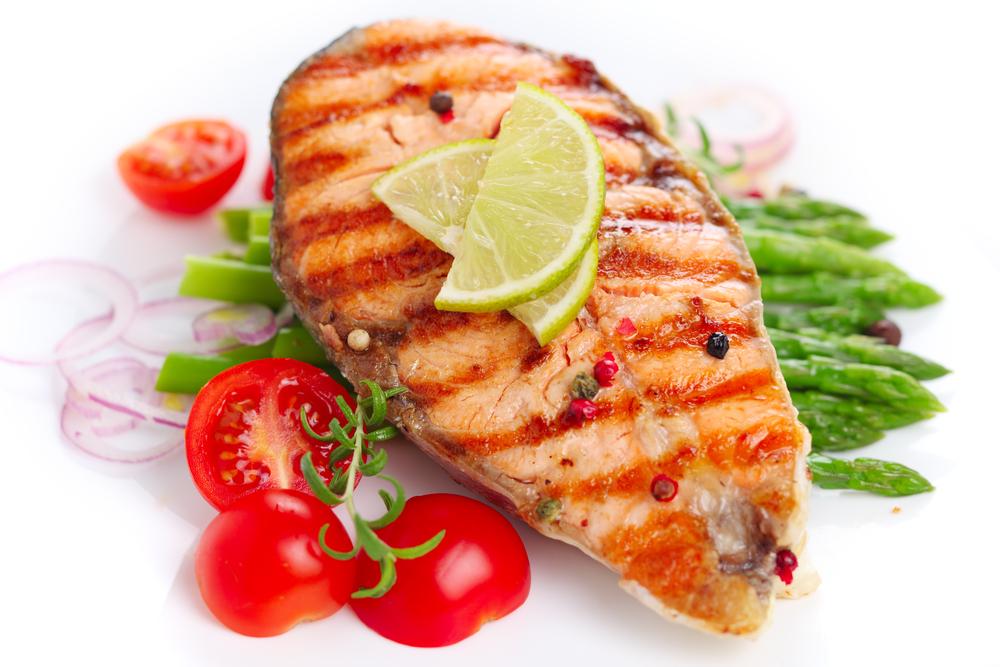 Шашлык из рыбы на решетке рецепты