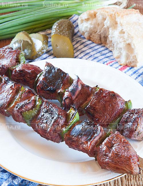 Мягкий и сочный шашлык из говядины. пошаговый рецепт с фото