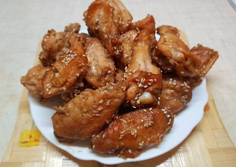 Рецепты куриных крылышек на мангале