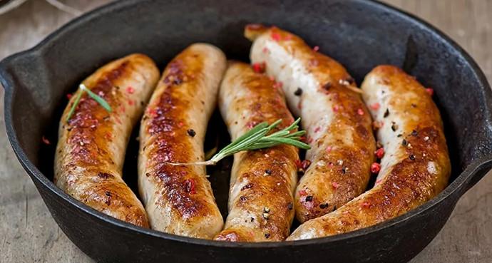 Колбаски для гриля в домашних условиях