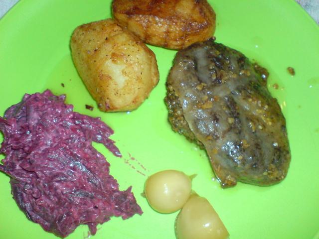 Печень в сеточке рецепт. шашлык из печени в жировой сетке – рецепт с фото.