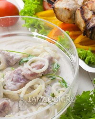 Рецепт шашлыка из свинины в кефире - 6 пошаговых фото в рецепте