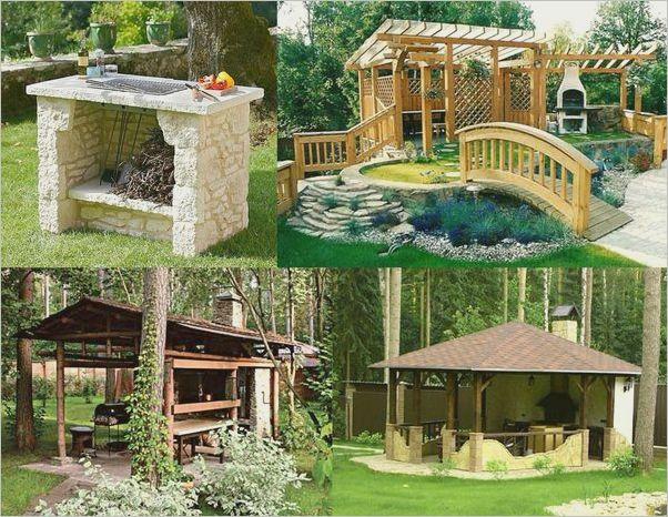 Беседка с мангалом: простые проекты и 120 фото примеров оформления в ландшафтном дизайне