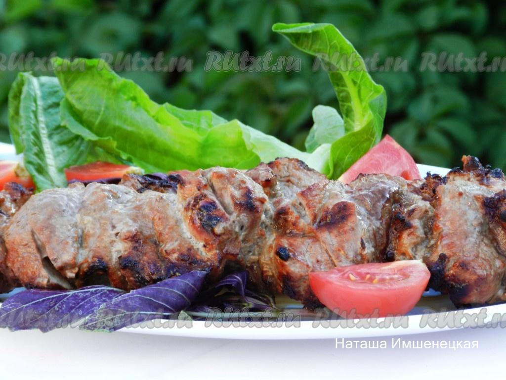 Жарим на мангале: шашлык из куриного филе