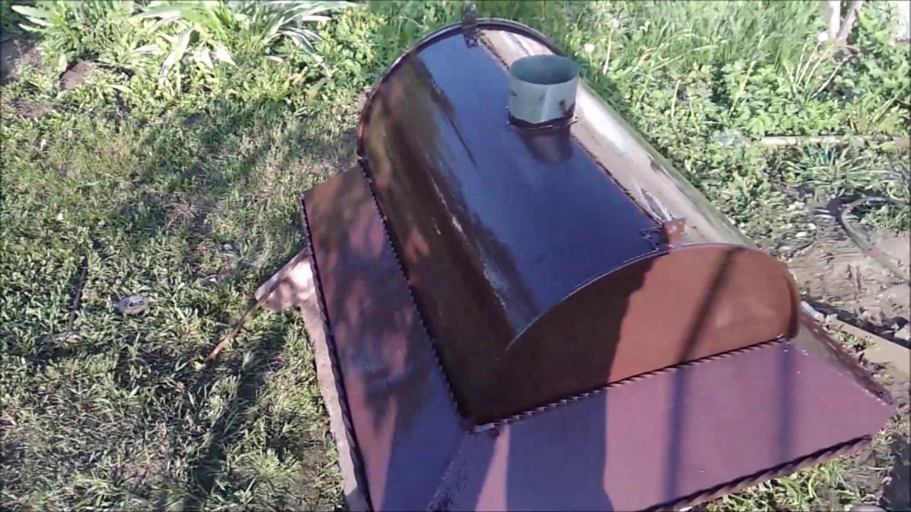 Как сделать качественную вытяжку для мангала за один день