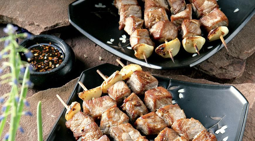 Шашлык из свинины — пошаговые рецепты маринада мяса без уксуса