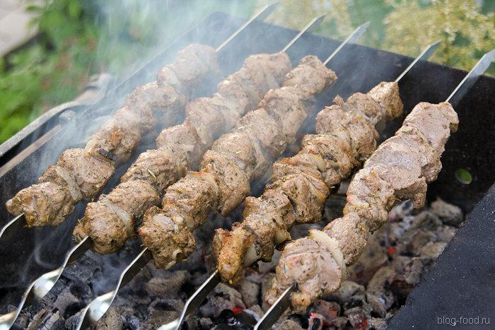 Шашлык из баранины — 6 рецептов приготовления маринада для мяса