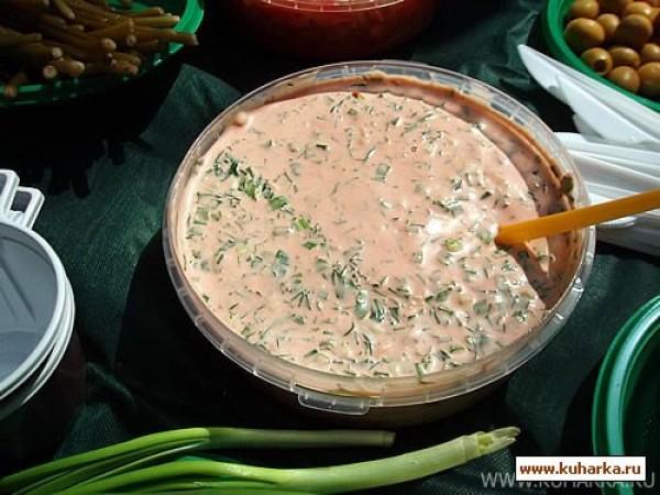 Томатный соус для шашлыка