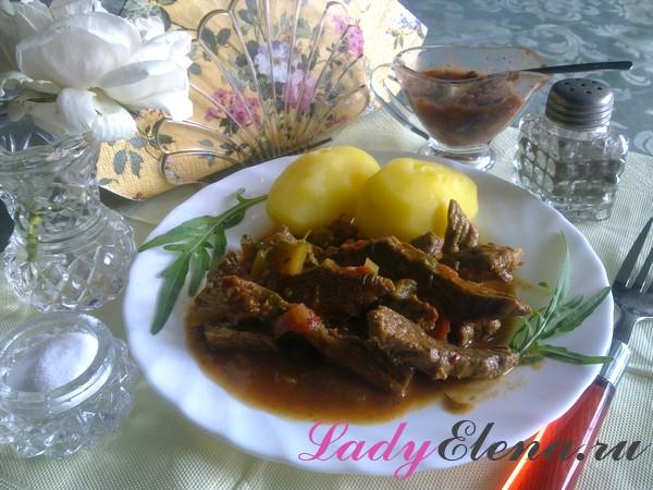 Как приготовить азу по-татарски: 8 вариантов рецептов с фото
