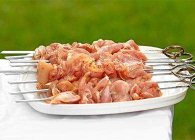 Как замариновать шашлык из говядины/ рецепты с фото