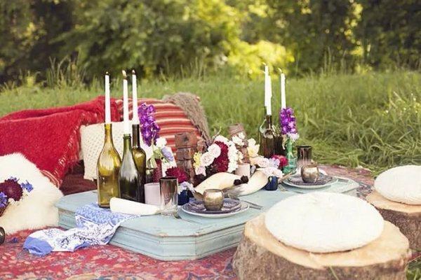 Освежаем былое: романтический вечер с любимым. что взять на романтический пикник
