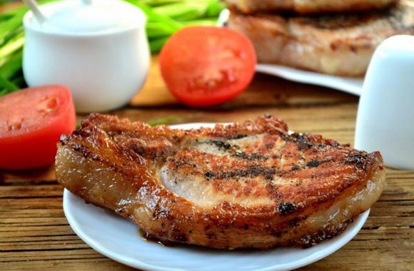 Шашлык из свинины антрекот