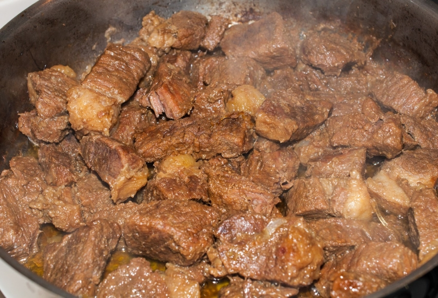 Жареная говядина: рецепт и фото