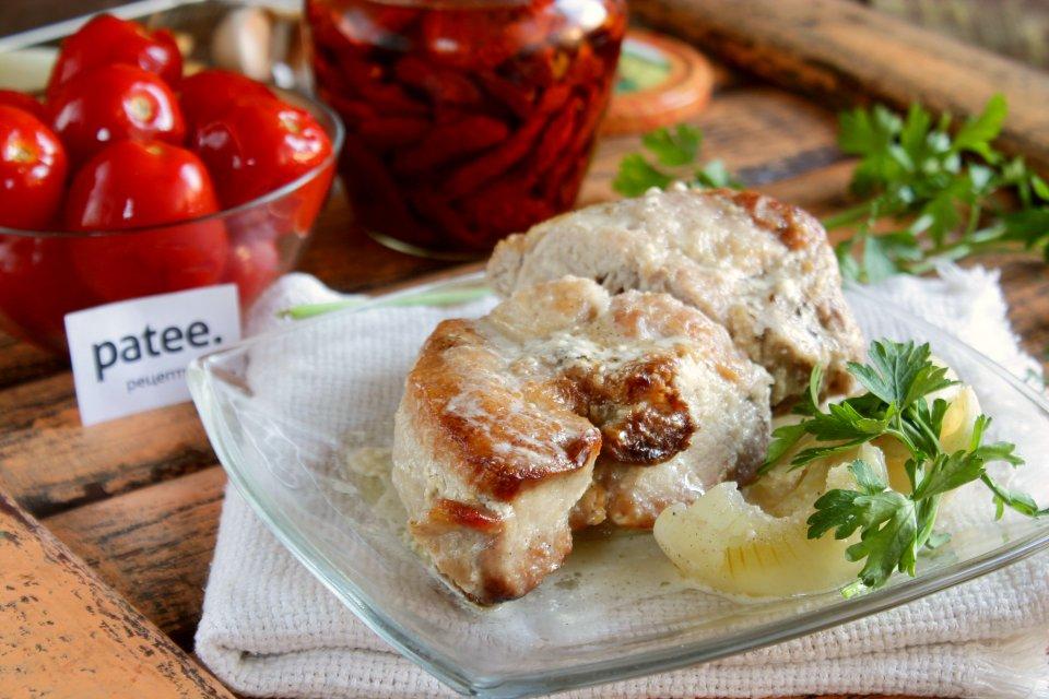 Шашлык в горчичном маринаде