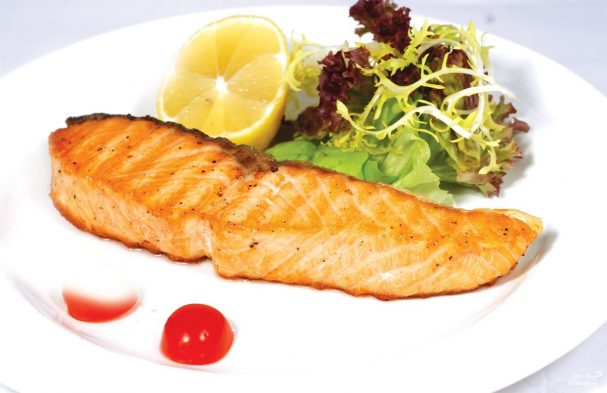 Красная рыба лосось в сливочном соусе (семга или горбуша) – готовим на сковороде