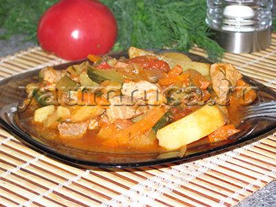 Азу по-татарски - 10 пошаговых фото в рецепте
