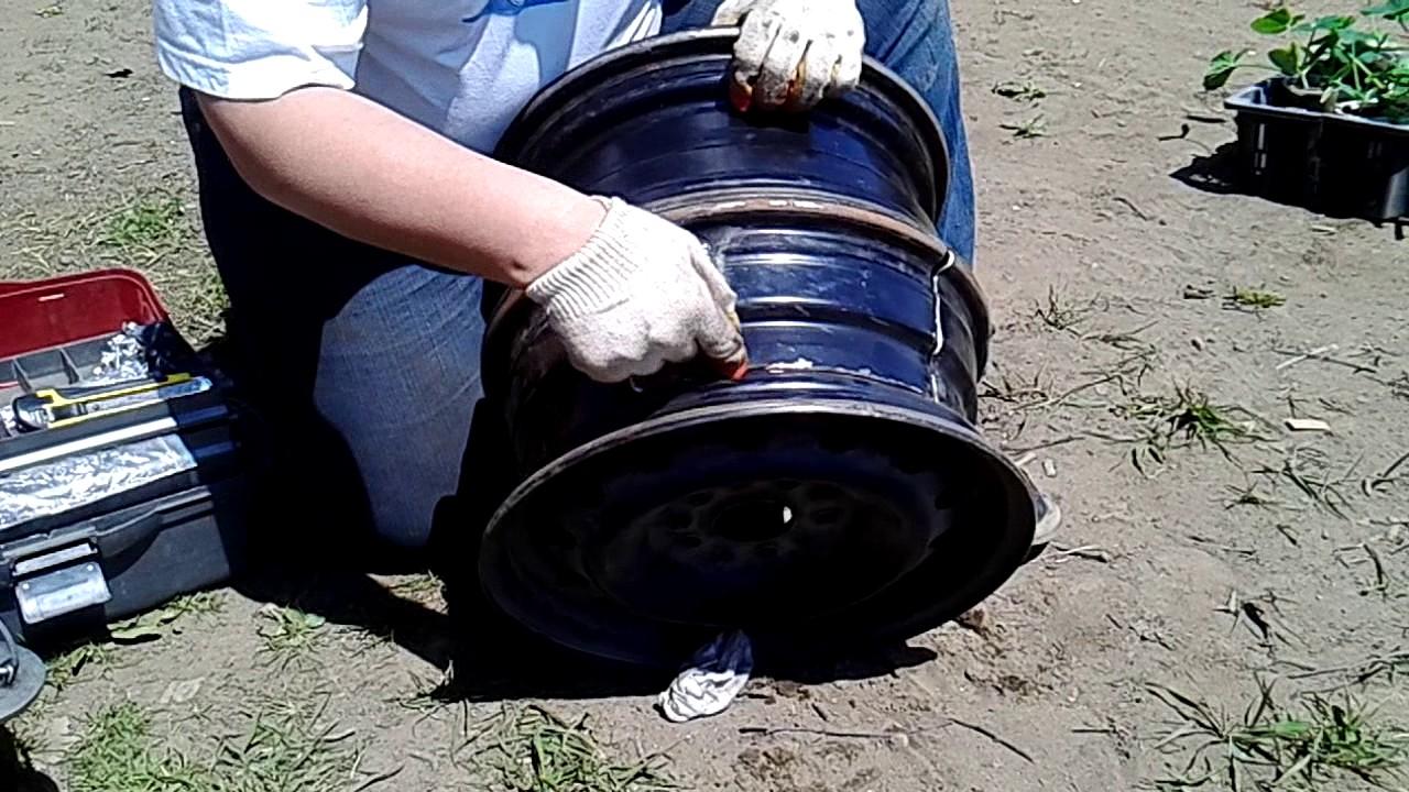 Как сварить печь для казана из металла своими руками