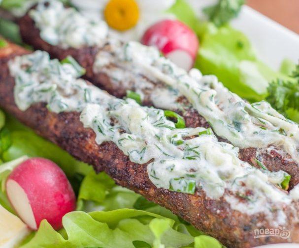 Люля-кебаб из говядины: рецепт и фото