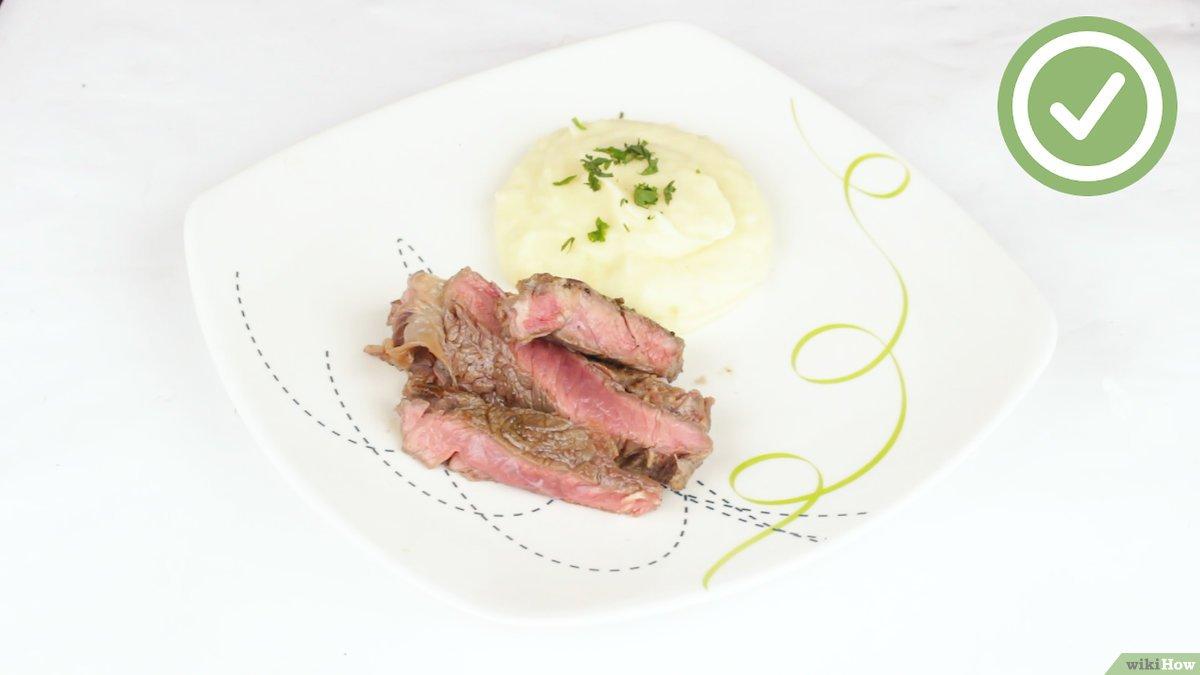 Рецепт стейка рибай на сковороде