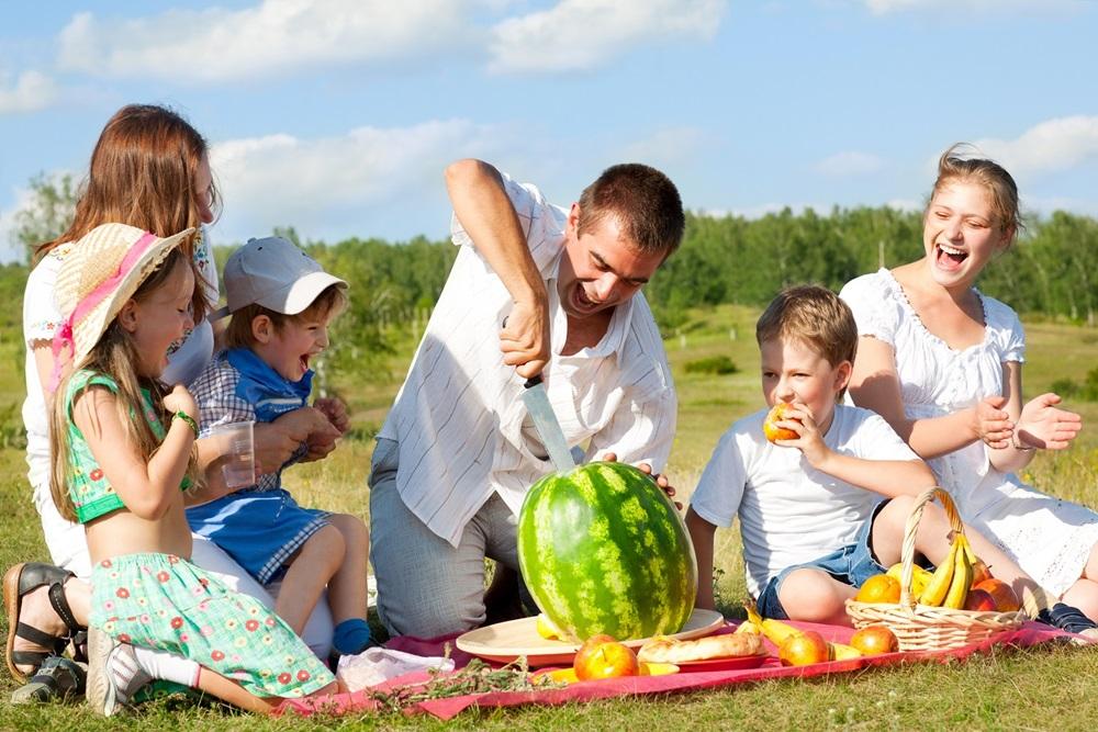 Как организовать пикник с маленьким ребенком
