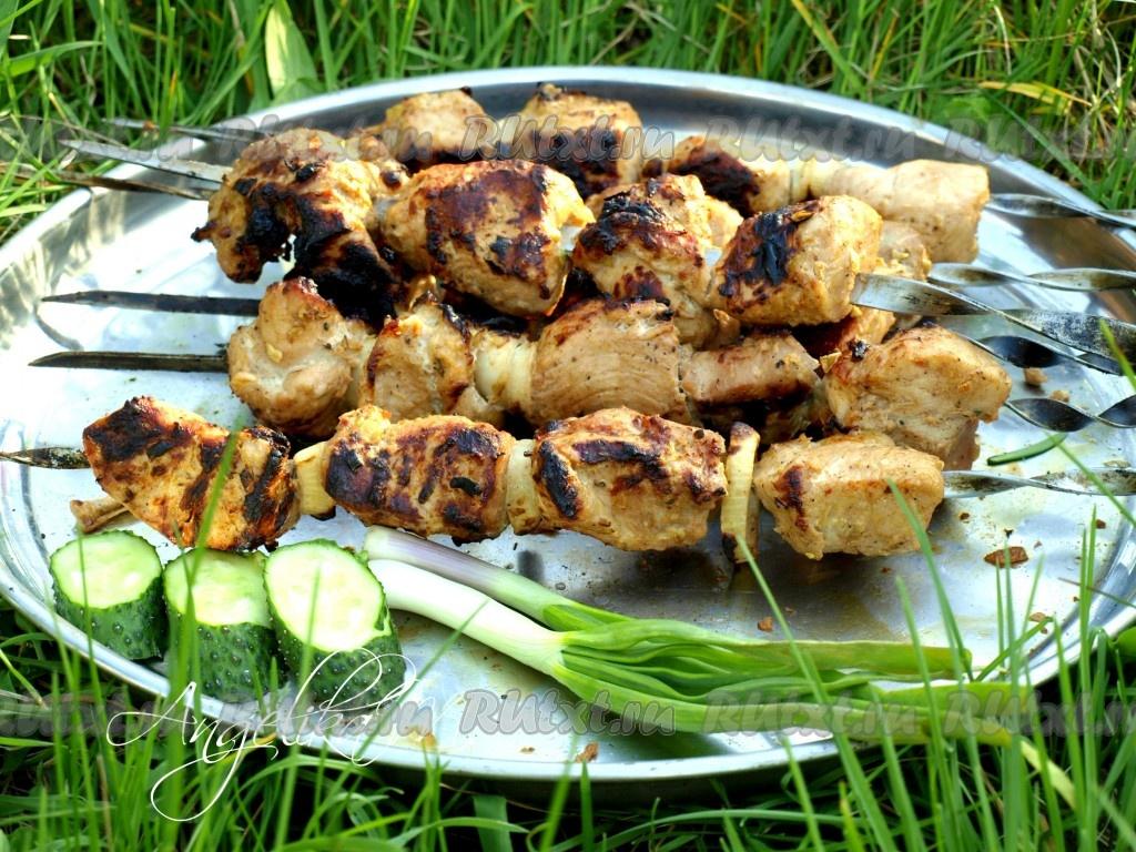 Томатный маринад для мясного шашлыка — рецепты приготовления
