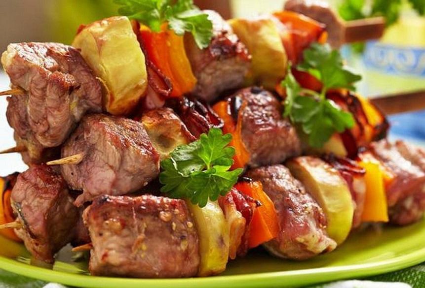 Шашлык из свинины в рукаве в духовке — рецепт с фото. сделайте, не пожалеете