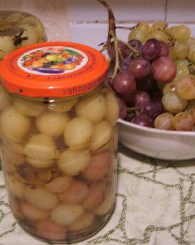 Рецепты приготовления маринованного винограда
