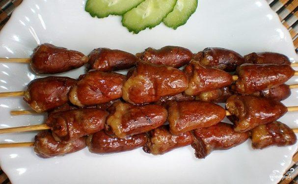 Шашлычки из куриных сердечек. 5 лучших рецептов и секреты приготовления. | ollyclub