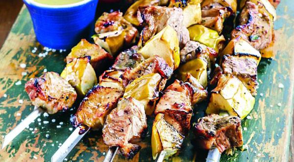 Шашлык из свинины с яблочным уксусом рецепт