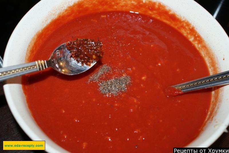 Делаем вкусный соус из томатной пасты для шашлыков