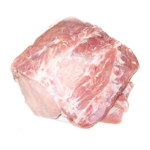 Шашлык из свиной шейки без маринада на углях
