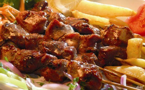 Вкусный шашлык по-карски из свинины и говядины – классический рецепт приготовления с пошаговыми фото