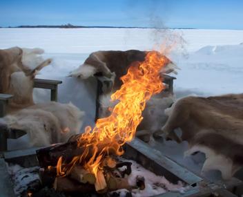 Как пожарить шашлык зимой?