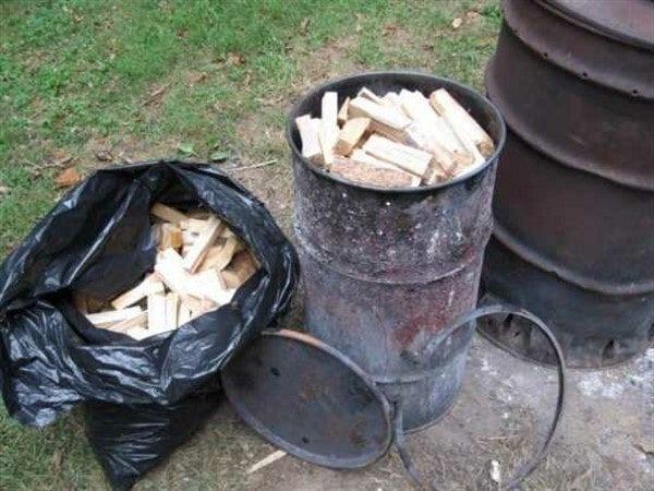 Особенности производства древесного угля