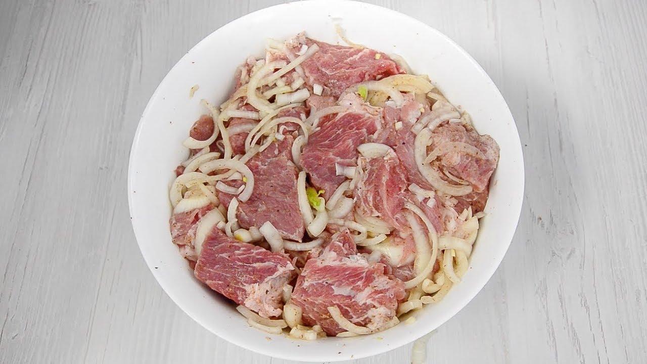 Маринад для свиного шашлыка: 10 рецептов