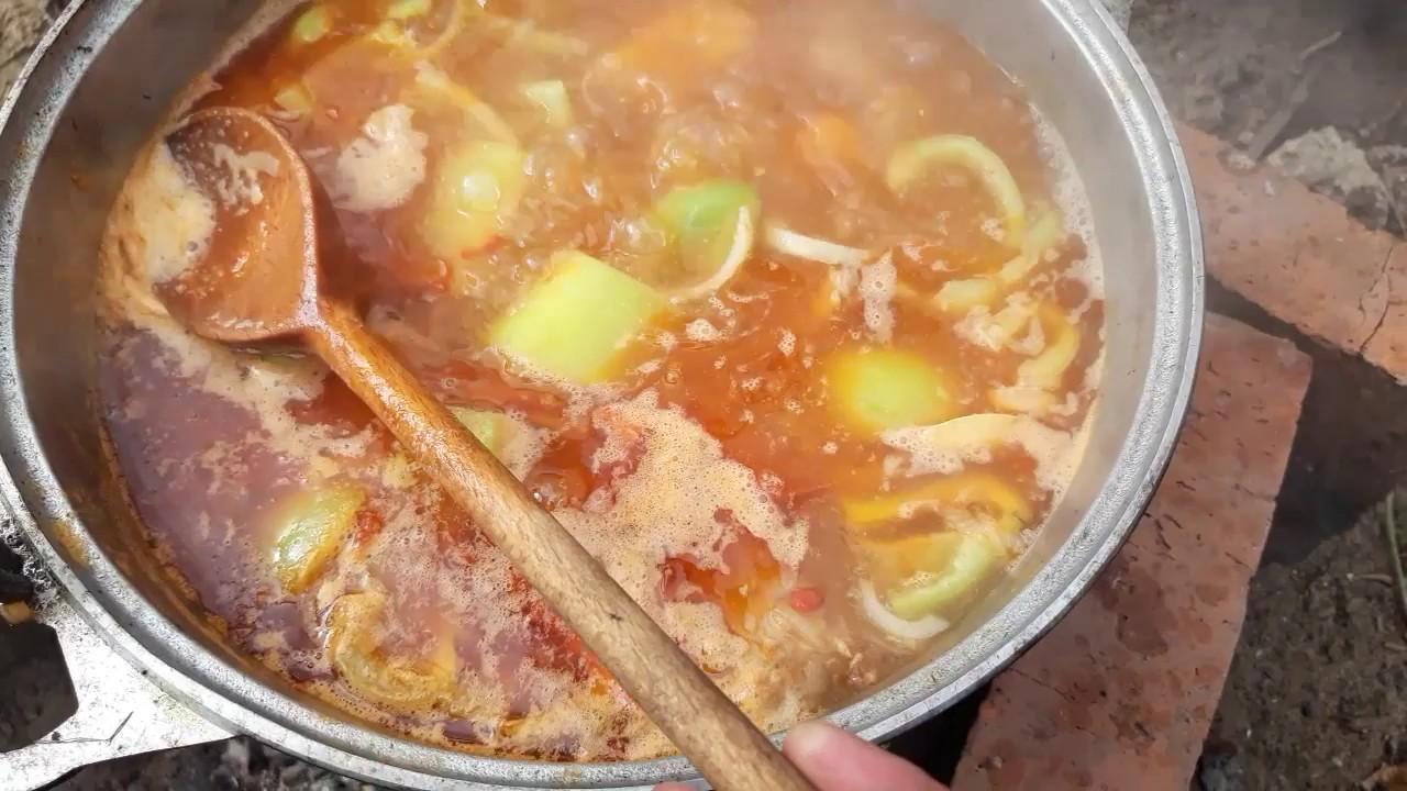 Шурпа из свинины по-классическому рецепту в домашних условиях + пошаговые фото